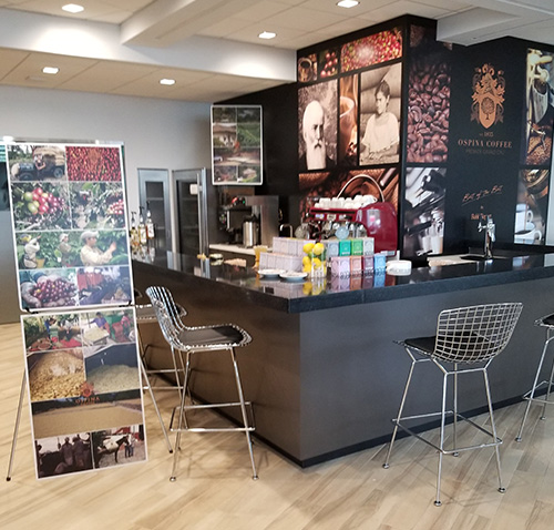Mercedes North Olmsted >> Ospina Coffee - Rich in History, Rich in flavor™